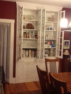 What To Do With Beautiful Built In China Cabinet Dining Room