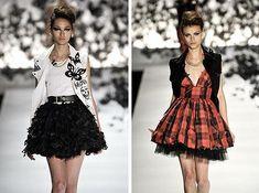 Moda provocante: Rock no estilo