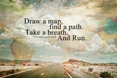 Draw a map... and Run.