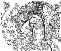 The Art of Katrina Pallon - Moon Blossoms