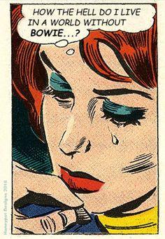trendy Ideas for pop art music david bowie Vintage Comic Books, Vintage Comics, Comic Books Art, Comic Art, Vintage Pop Art, Funny Vintage, The Wicked The Divine, Comics Illustration, Illustrations Posters