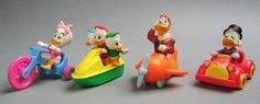 DuckTales Figures (1988) | The 25 Greatest Happy Meal Toys Of The '80s