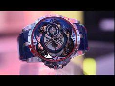 Roger Dubuis Excalibur Quatuor Cobalt MicroMelt Watch Hands-On | aBlogtoWatch