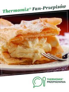 Karpatka jest to przepis stworzony przez użytkownika Thermomix. Ten przepis na Thermomix<sup>®</sup> znajdziesz w kategorii Słodkie wypieki na www.przepisownia.pl, społeczności Thermomix<sup>®</sup>.
