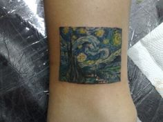 Maybe if I had a favorite piece of art I would get it tattooed, but never on my wrist