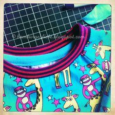 binnenkant tricot hals mooi afwerken - tutorial