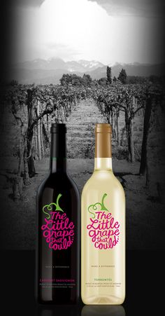Donate to charities by purchasing The Little Grape that Could wine!! - Plus it's actually really good