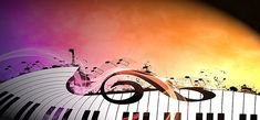 Carnival background music key symbol of passion