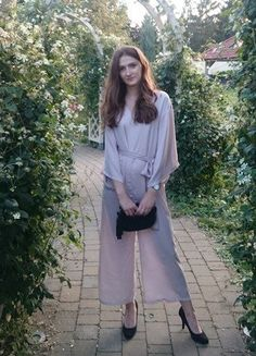 Kup mój przedmiot na #vintedpl http://www.vinted.pl/damska-odziez/kombinezony/16817879-kombinezon-asos-wesele-nogawki-rybaczki-flare-kimono-bez-brudny-roz-36-s