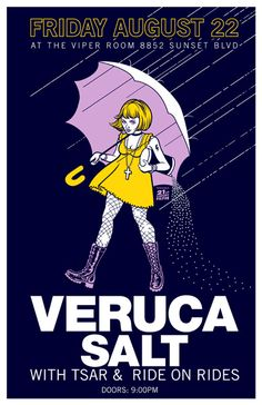 GigPosters.com - Veruca Salt - Tsar - Ride On Rides