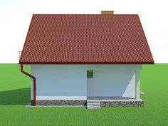 Elewacja tylna projektu Deko w2 Outdoor Decor, Sims, Home Decor, Deco, Projects, Decoration Home, Room Decor, Mantle, Home Interior Design