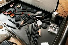 Leandra Medine's @narscosmetics makeup counter for Adventures in Beauty Vlogging   Man Repeller