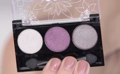 Pop Sugar Plum Trio Sample | Colors are slightly darker than the picture