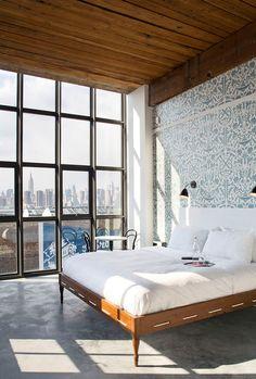 Wythe Hotel   photo: Morris Adjmi Architects