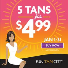 227 Best Specials At Sun Tan City Images In 2019 August 31 Click