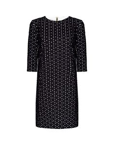 MANGO - Vestido bordado suizo