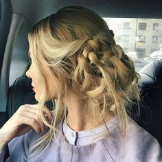 Radiant Wedding Hairstyles Featuring Versatile Braids