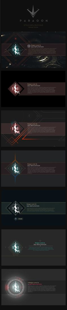 User Interface work for Paragon Game Gui, Game Icon, Game Ui Design, Sound Design, Tower Games, Vfx Tutorial, Game Interface, Game Assets, Epic Games