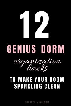 This post is all about the must-have products that you need to organize your dorm room bathroom and keep it clean and tidy. Use these tips and products to keep your dorm bathroom looking organized and cute AF throughout the school year!  Dorm room ideas, dorm room hacks, dorm room tips, dorm bathroom ideas, dorm storage ideas, dorm diy, dorm organization ideas!
