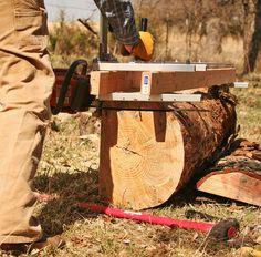 Granbergs Alaskan Sawmill: making the money cuts.