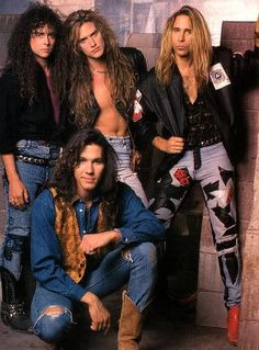 """Slaughter is an American hard rock band formed in Las Vegas, Nevada by lead vocalist/rhythm guitarist Mark Slaughter and bassist Dana Strum. The band reached stardom in 1990 with their first album Stick It to Ya, which spawned several hit singles including """"Up All Night"""", """"Spend My Life"""", """"Mad About You"""" and """"Fly to the Angels"""". The album reached double platinum status in the United States"""