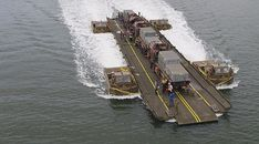 Army's new ribbon bridges tested in Sydney