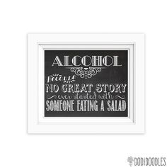 Alcoholbecause no great story ever started with by dodidoodles