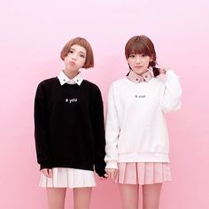 ulzzang two girls - Szukaj w Google