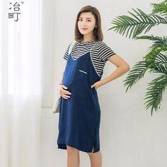 98cd1a55c5dc5 Maternity pregnant clothes short casual dress for pregnant women nursing