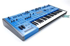 Oberheim OB-12. Phat analog-model of the classic Oberheim synths, with all the cool digital controls...