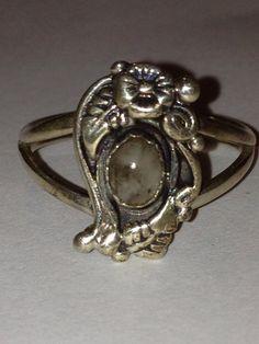 Navajo Moss Agate Sterling Ring TJW Silver Sz 7.5 Vintage Jewelry Southwestern Tribal Christmas Holiday Birthday Anniversary Xmas Gift USA on Etsy, $46.00
