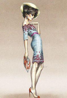 Fashion ILLUSTRATION #drawfashion