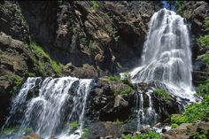 Camping Places To Go :Silver Falls in Pagosa Springs CO State Of Colorado, Colorado Homes, Colorado Rockies, Camping List, Camping Places, Places To See, Places Ive Been, Colorado Springs Camping, Silver Falls