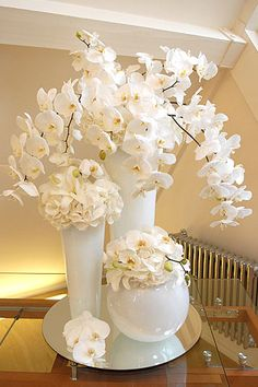 White arrangements