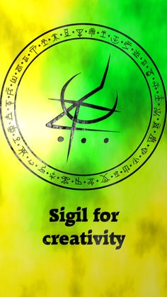 Wolf Of Antimony Occultism — Sigil for creativity Sigil requests are closed. Magick Spells, Wicca Witchcraft, Wiccan Witch, Magic Symbols, Symbols And Meanings, Def Not, Eclectic Witch, Spiritus, Practical Magic