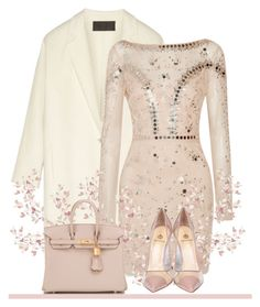 """Fashion ^_^"" by monika-aa ❤ liked on Polyvore featuring Donna Karan, Temperley London, Semilla and Hermès"