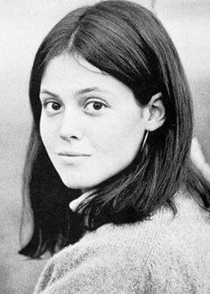 A young Sigourney Weaver