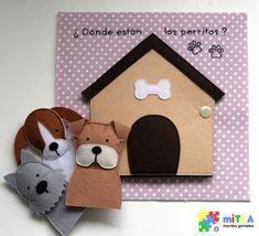 Marionetas perritos - Quiet Book