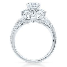 My ring :) The Fleur de Lis on the side is the inspiration for my first tattoo Im getting!
