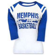 Women's Memphis Tigers Basketball Raglan T-Shirt