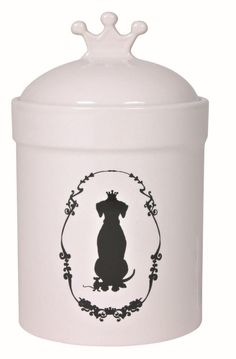 Trixie Dog King 25024 Food and Snack Jar 1.2 Litres / 12 cm Diameter