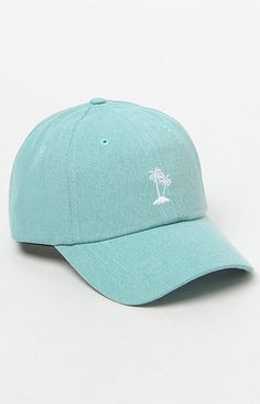 Court Mint Strapback Dad Hat