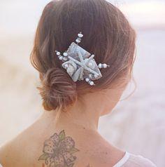 Beach wedding hair https://www.etsy.com/listing/200406906/starfish-seastar-hair-comb-beach-wedding?ref=listing-shop-header-3