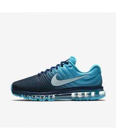 newest d0a70 12231 Nike Air Max 2017 Mens Binary Blue Chlorine Blue Glacier Blue Shoes,Valentines  Day boys