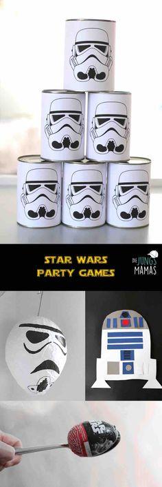 Tolle Star Wars Party Spiele für den Kindergeburtstag