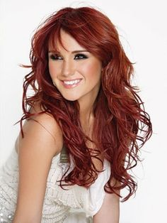 Best Red Hair Trends Fall Winter 2013 -2014 2