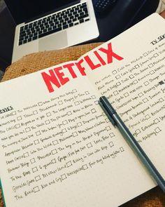 "10 mentions J'aime, 1 commentaires - Danielle francis (@danifraaa_bujo) sur Instagram : ""So many things to watch. #netflix #netflixbujo #bujo #bujospread #notfinishedyet #bulletjournal…"""