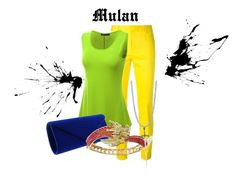 """""""Mulan"""" by morley-321 on Polyvore featuring Dsquared2, Doublju, BERRICLE, women's clothing, women's fashion, women, female, woman, misses and juniors"""