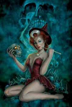 bruxa by bdois by andrebdois.deviantart.com on @deviantART