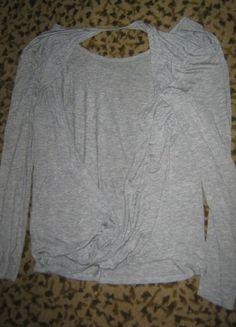 Kup mój przedmiot na #vintedpl http://www.vinted.pl/damska-odziez/bluzki-z-dlugimi-rekawami/6155173-szara-bluzka-typu-mgielka